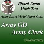 Army Bharti Exam Quiz