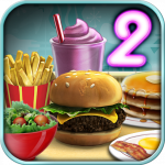 Burger Shop 2 – Crazy Cooking Game with Robots
