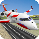 City Airplane Pilot Flight New Game-Plane Games
