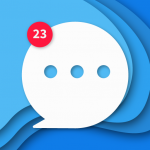 Messenger Home – SMS Widget and Home Screen