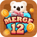 Merge 12 – Free Number Puzzle Game, Can Make Money
